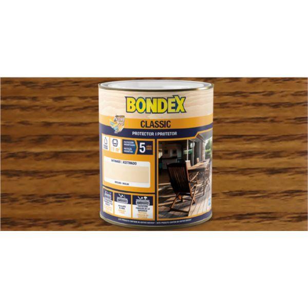 BONDEX SATINADO CASTAÑO 903 5LTRS