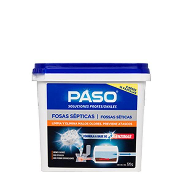 PASO FOSA SEPTICAS 16 PASTILLA
